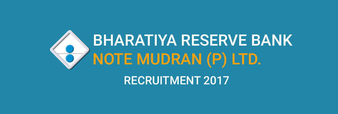 BHARATIYA RESERVE BANK NOTE MUDRAN PRIVATE LIMITED(BRBNMPL)  2017