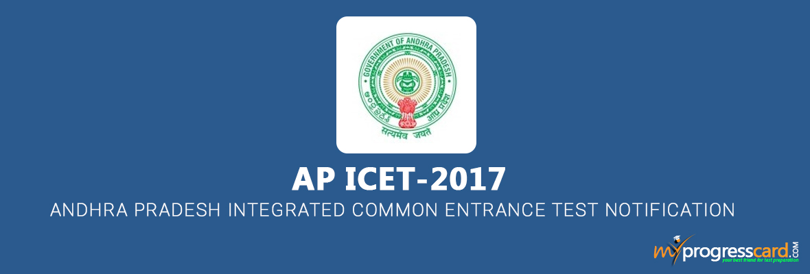 Andhra Pradesh Integrated Common Entrance Test (AP ICET) Notification