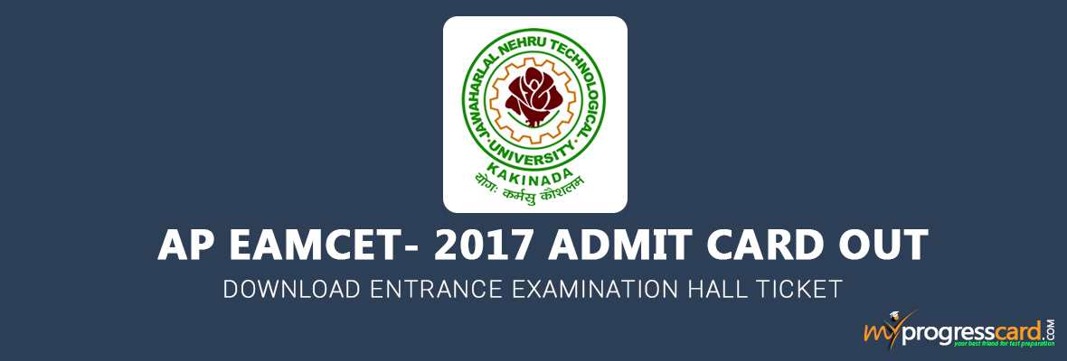 Download AP EAMCET 2017 Hall Ticket Now