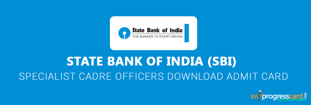 SBI SO 2017 ADMIT CARD IS OUT