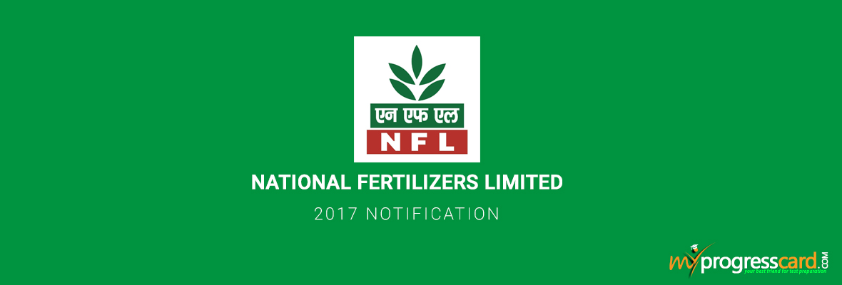 NATIONAL FERTILIZERS LIMITED 2017 NOTIFICATION