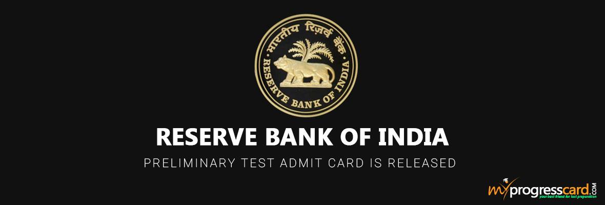 RBI-admitcard