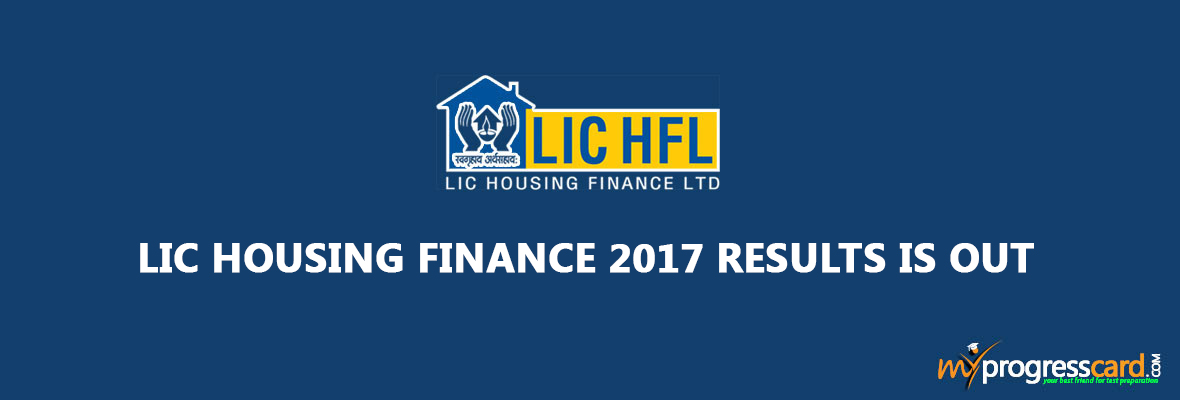 LIC HOUSING FINANCE 2017 RESULTS IS OUT