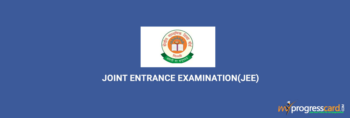 JOINT-ENTRANCE-EXAMINATION(JEE)