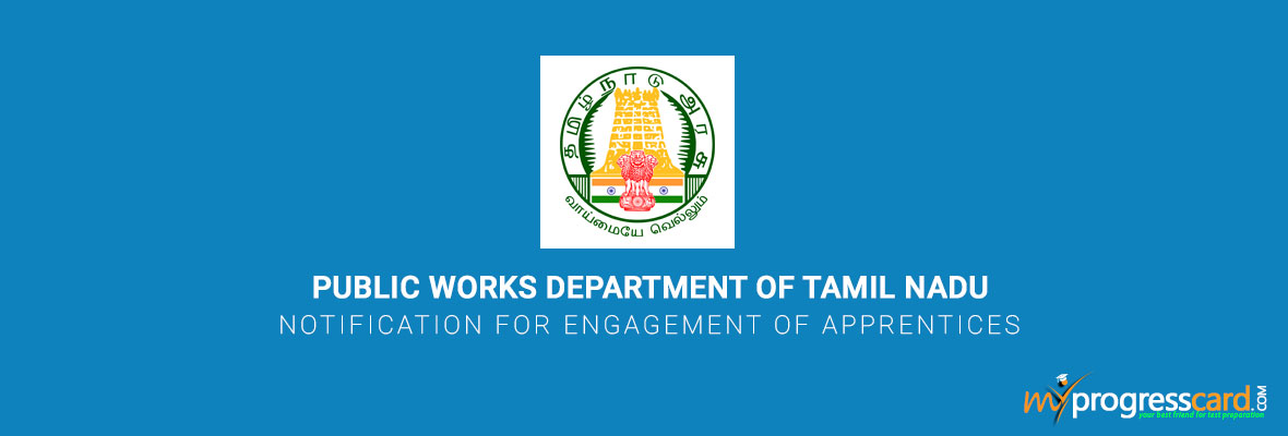 TAMIL NADU NOTIFICATION FOR ENGAGEMENT OF APPRENTICES