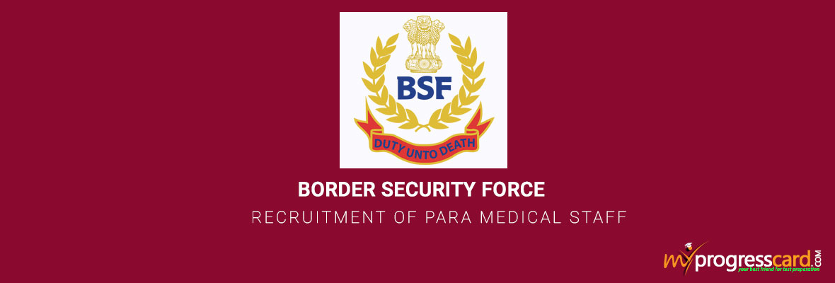 BSF 2017 OFFICIAL NOTIFICATION