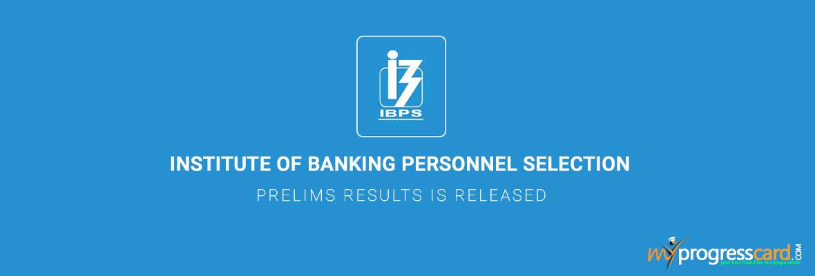 IBPS-Clerks-Prelims-results