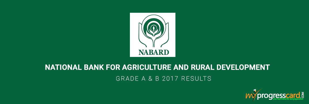 Nabard-Grade-A&B-results