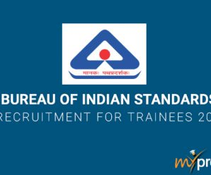 Bureau of Indian Standards Recruitment for Trainees 2018