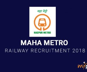 Maha Metro Railway Recruitment 2018
