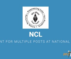 NCL Recruitment for Multiple Posts at National Coal Fields
