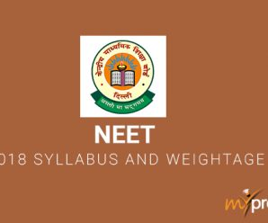NEET 2018 Syllabus and Weightage