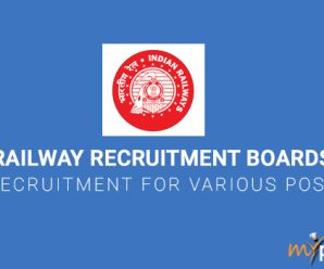 Railway Recruitment Boards Recruitment for Various Posts