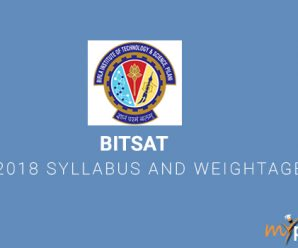 BITSAT 2018 Hall Ticket