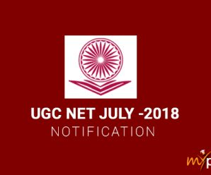 UGC- NET July 2018 Notification