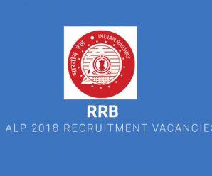 RRB ALP 2018 Recruitment Vacancies