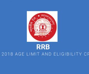RRB ALP 2018 Age Limit and Eligibility Criteria