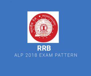 RRB ALP 2018 Exam Pattern