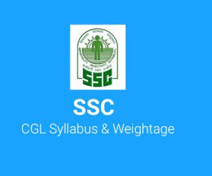 SSC CGL 2018 Syllabus and Weightage