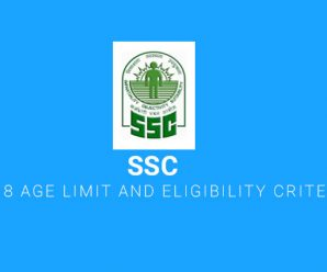 SSC CGL 2018 Age Limit and Eligibility Criteria Details