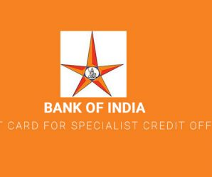 Bank of India Admit Card for Specialist Credit Officer