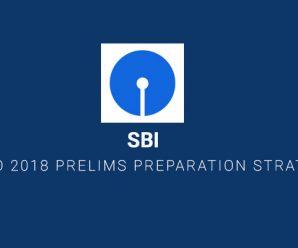 SBI PO 2018 PRELIMS PREPARATION STRATEGY