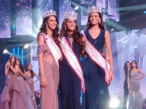Anukreethy Vas From Tamil Nadu Crowned 2018 Femina Miss India