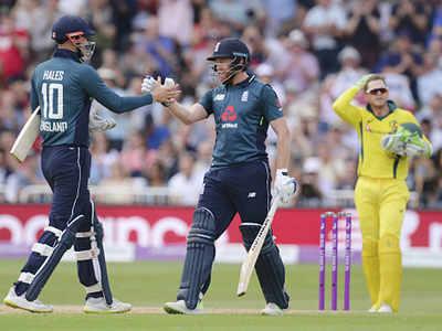 England post record ODI