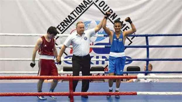 Gaurav Bidhuri bags bronze medal in Russia