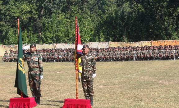 India-Nepal Joint Ex SURYA KIRAN-XIII