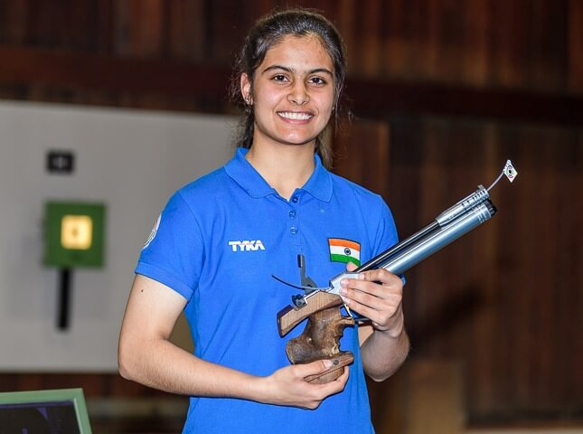 Indian shooter Manu sets world record, wins 7th gold of the year