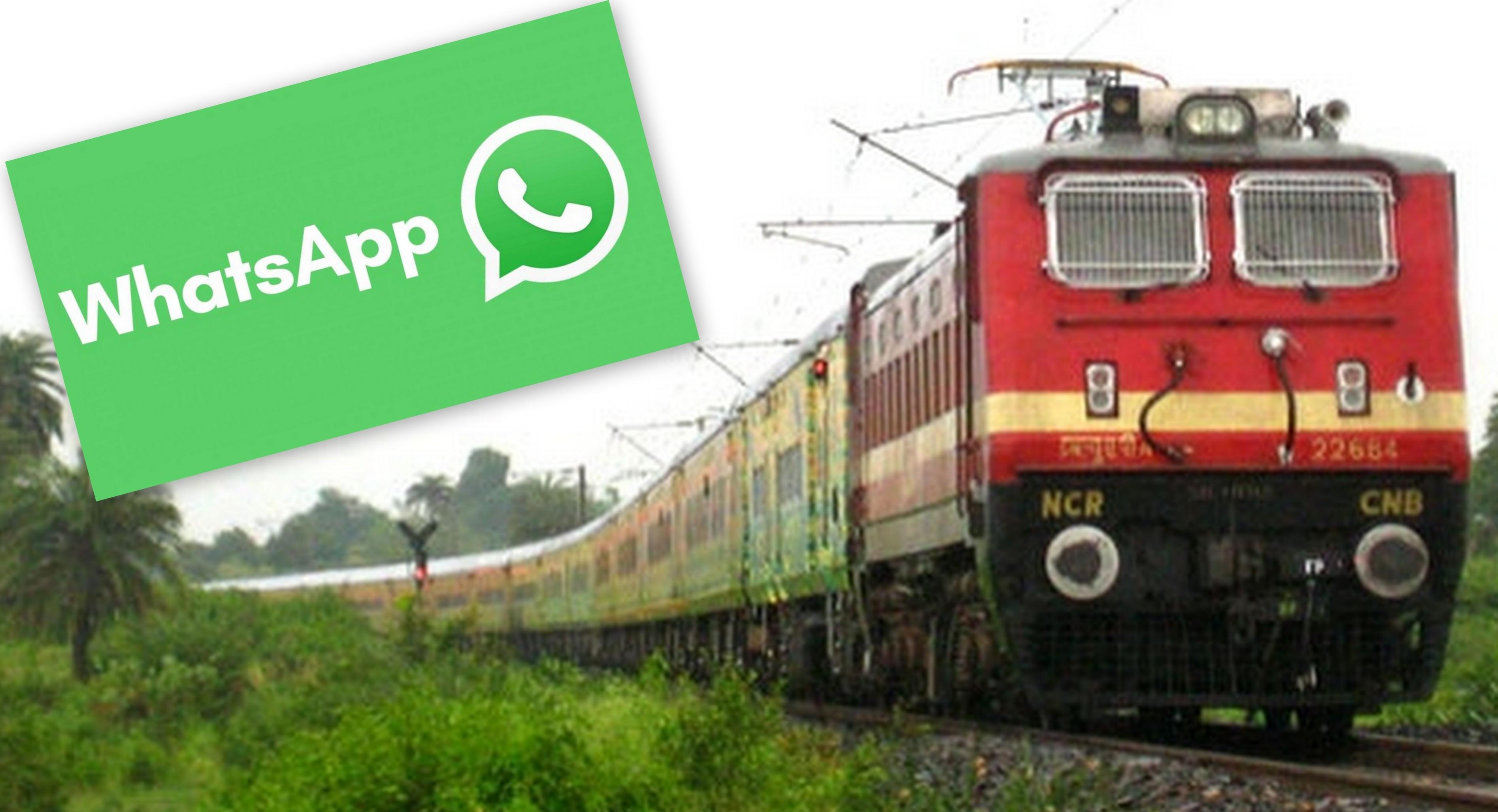 Northern Railways to monitor trains using WhatsApp