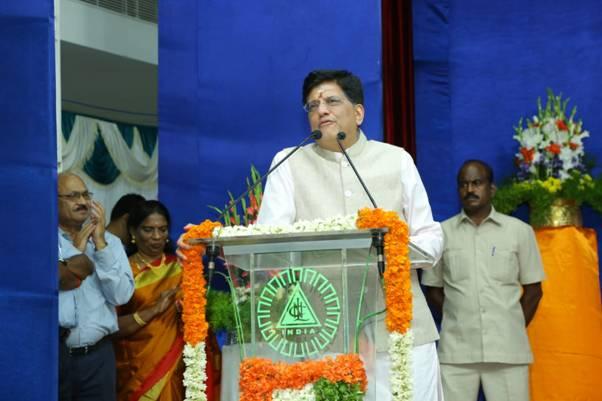 Piyush Goyal dedicates NLCIL's
