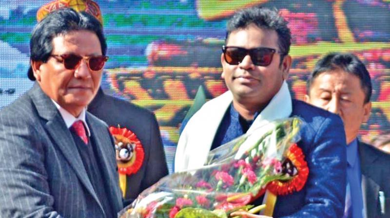 Sikkim government announces A.R Rahman as its Brand Ambassador