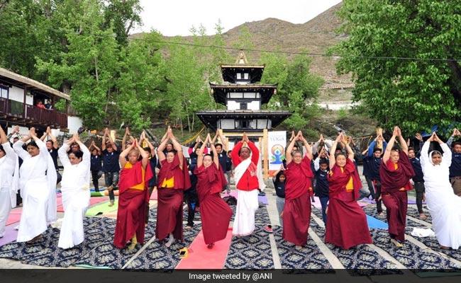 Yoga Camp at Muktinath Temple