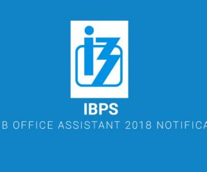 IBPS RRB Office Assistant 2018 Notification