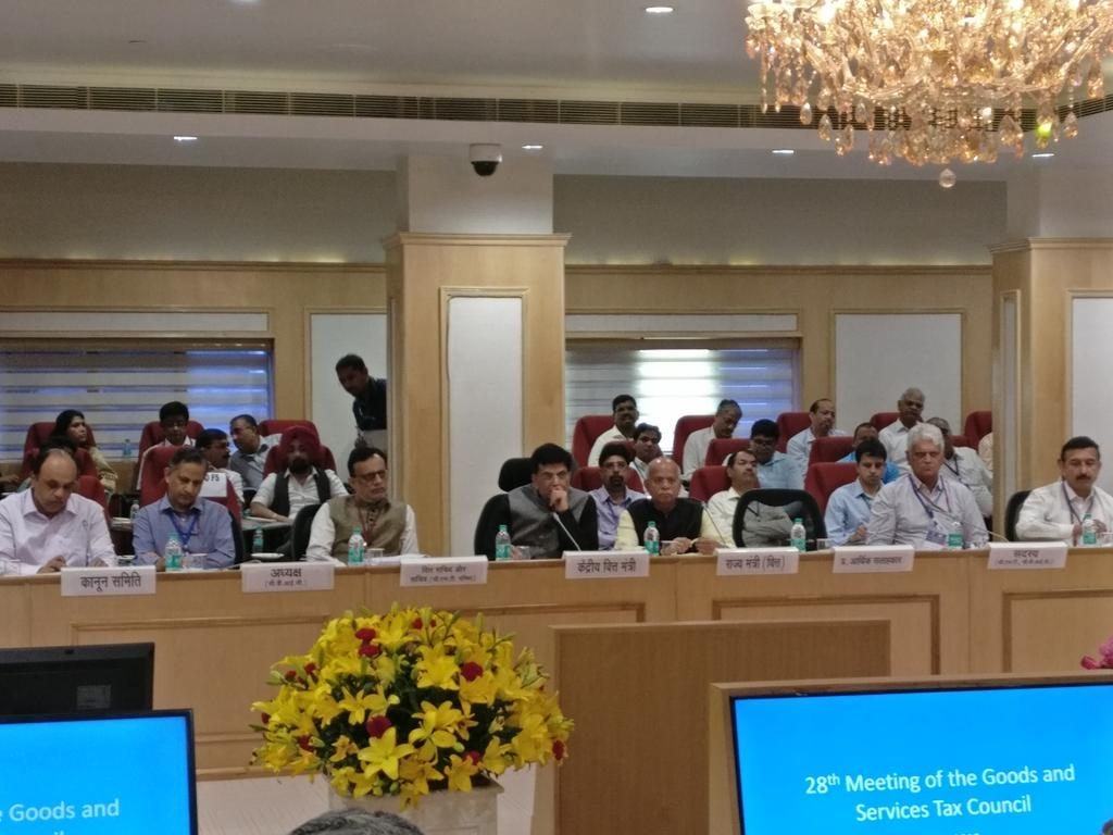 28th meeting of the GST Council held in New Delhi