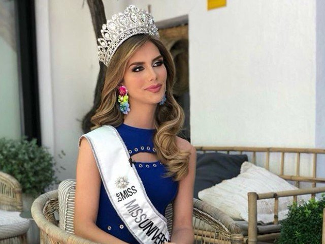 Angela Ponce became the first-ever transgender woman to be crowned as Miss Universe Spain.