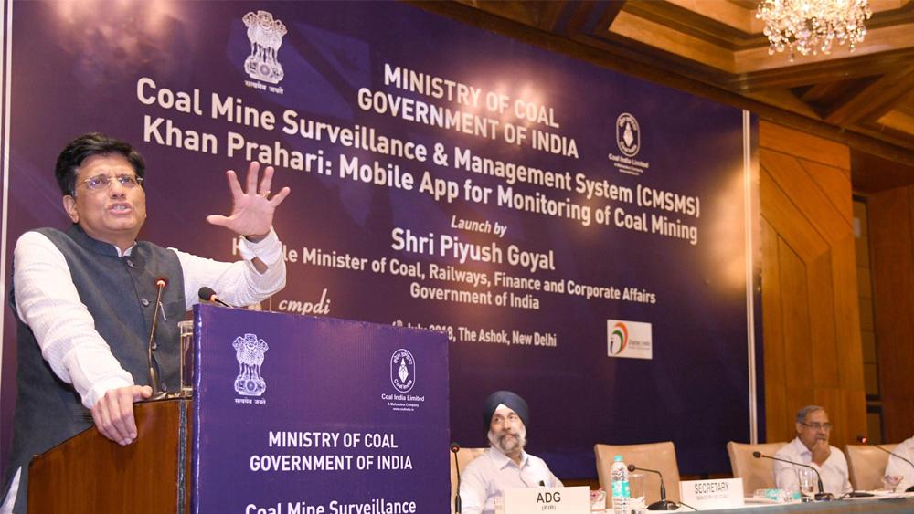 Coal Mine Surveillance & Management System (CMSMS)