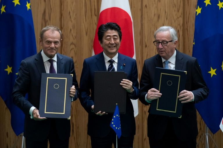 EU and Japan signed major trade deal