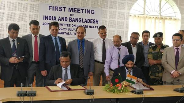 First Meeting of India-Bangladesh