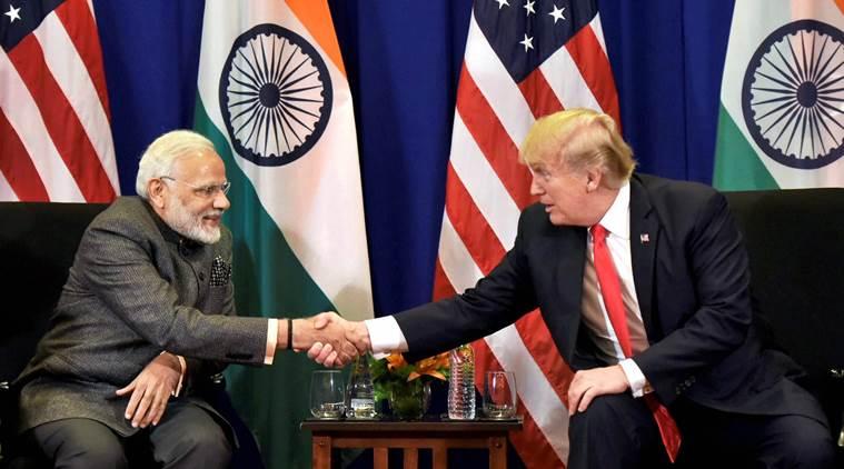 Modi meets Trump