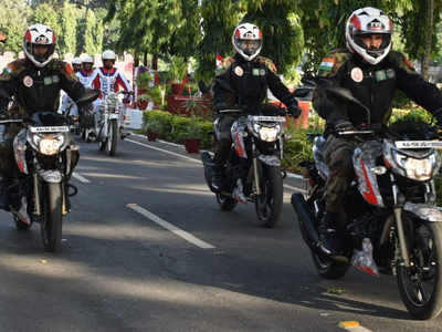 Indian Army Motorcycle Expedition to Commemorate Kargil Vijay Diwas
