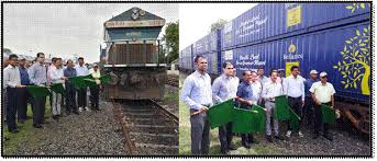 Indian Railways Introduces First Double Stack Dwarf Container Service