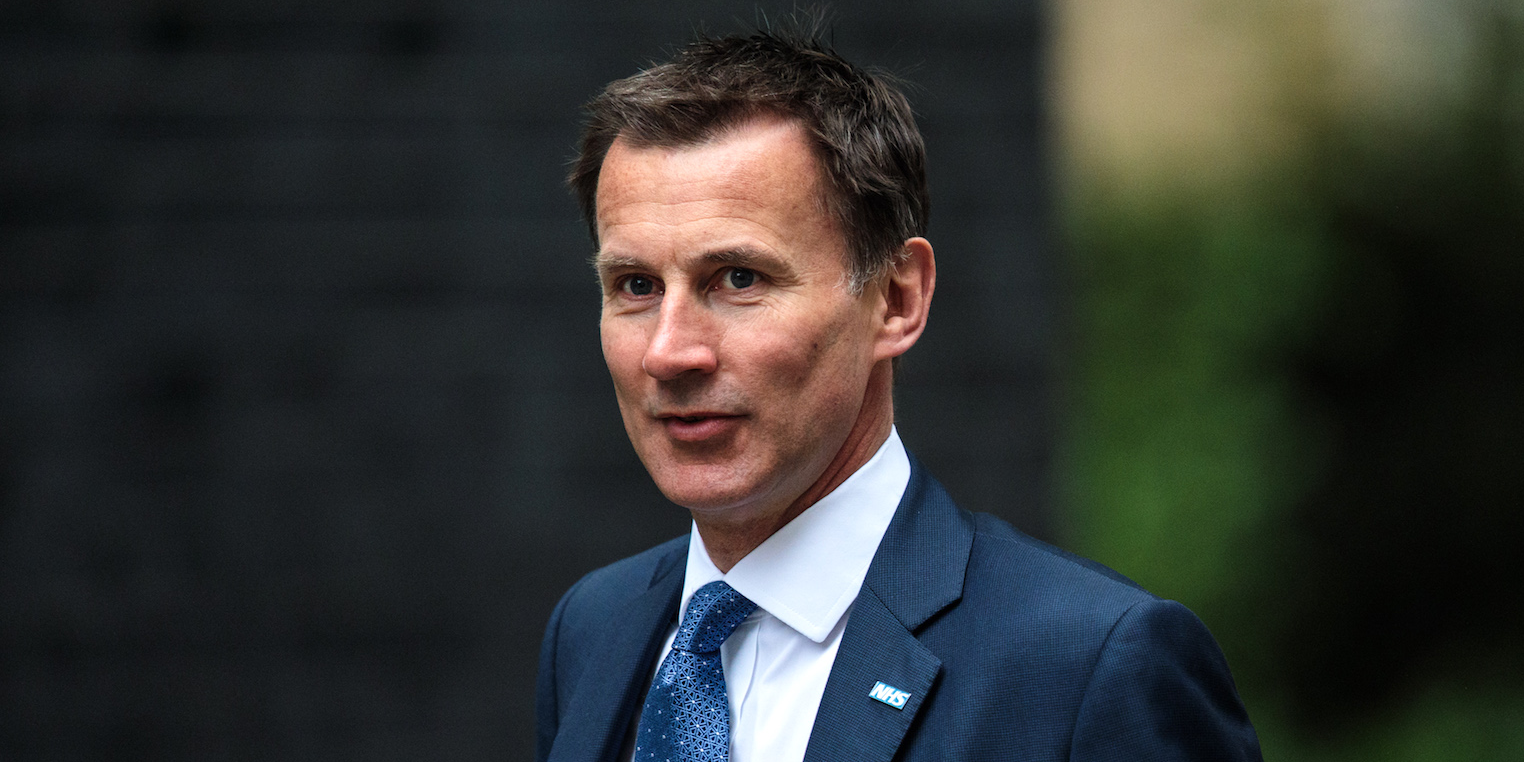 Jeremy Hunt appointed as new UK Foreign Secretary