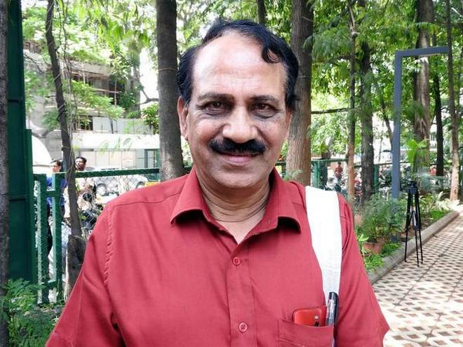 Kannada poet M.N. Vyasa Rao