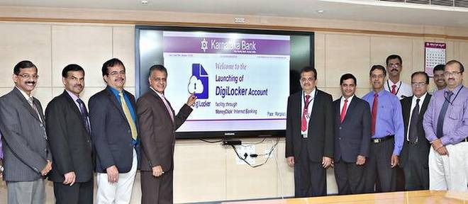 Karnataka Bank launched DigiLocker facility