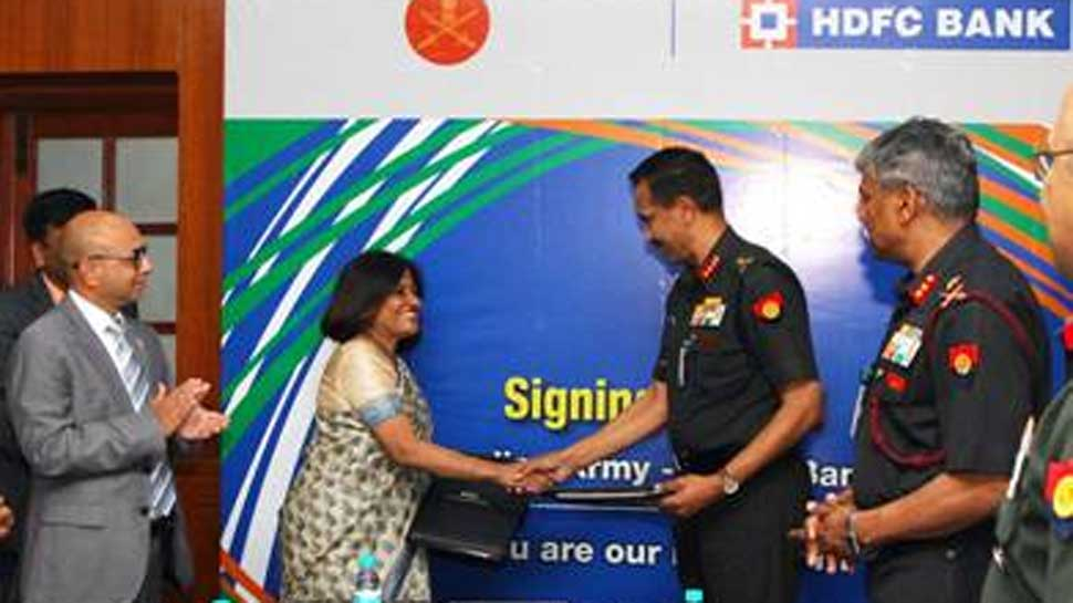 MoU on Defence Salary Package signed between Indian Army and State Bank of India