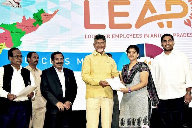 N. Chandrababu Naidu launches e-Pragati core platform