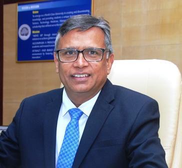 Professor Sandeep Sancheti takes charge as president of AIU